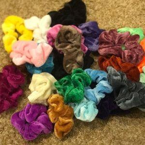 pick 5 scrunchies